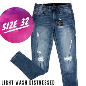 Light Wash Distressed Denim by LuLaRoe